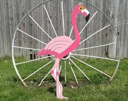 pink flamingo decor etsy