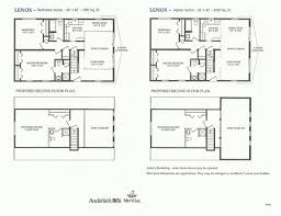 Lenox Floor Plan Modular Homes Knecht U0027s General Contracting Inc