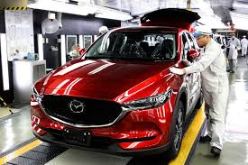 mazda official site 2017 mazda cx 5 begins production in japan