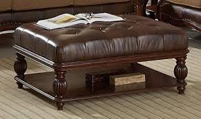 beautiful leather ottoman coffee table furniture edmonton