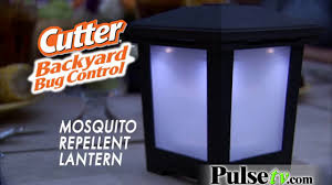 Mosquito Repellent For Home by Repel Mosquito Repellent Lantern By Cutter Youtube