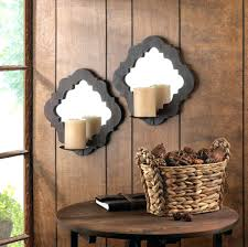 Joselyn Wall Sconce Candle Sconces Wall Decor Rustic Wall Candle Sconces Image Of
