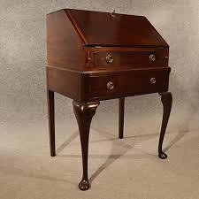 Small Bureau Desk Uk Antique Small Bureau Caign Writing Study Desk Quality