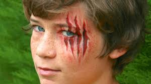 Halloween Face Makeup Ideas For Kids by Halloween Makeup Claw Wounds Werewolf Lacerations Without