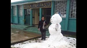 cerro de pasco noticias de cerro de pasco diario correo nieve cubre toda la ciudad de cerro de pasco tras 18 largos años