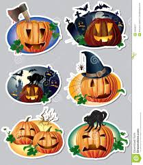 Halloween Stickers Halloween Stickers Royalty Free Stock Photography Image 32668227