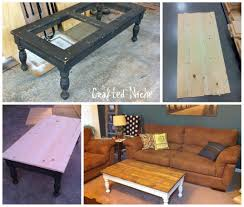 Painting Coffee Tables Lovely Redo Coffee Table With Glass Inserts 71 For Your With Redo
