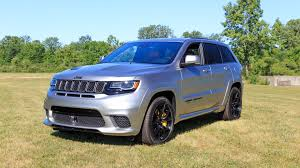 blue jeep grand cherokee 2018 jeep grand cherokee trackhawk starts at just under 110k