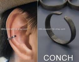 ear cuffs ireland conch ear cuff etsy
