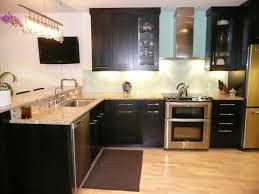gray kitchen white cabinets kitchen tiny counter and bath island by mocha tile backsplash