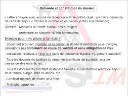 demande de carte de sejour apres mariage régularisation entrer sur le territoire de mayotte ppt