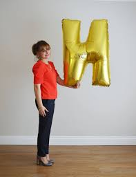giant letter balloon 40