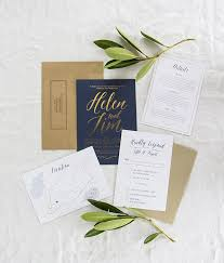 navy wedding invitations 15 gold foil wedding invitations that will make you swoon brit co