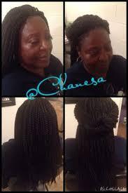 noir pre twisted senegalese twist crochet braids havana mambo twists 12 stylist chanesa hart