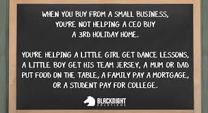 Business Meme - why supporting small business is so important