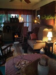 Country Primitive Home Decor 489 Best Colonial And Primitive Sunrooms And Porches Images On