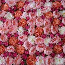 wedding backdrop flower wall new wedding decoration artificial peony flower wall for