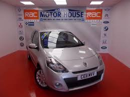 used silver renault clio for sale glamorgan