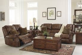 Brown Recliner Sofa Walworth Auburn Reclining Sofa Loveseat U78001 88 86