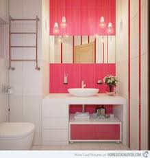 a perfectly pink bathroom pink interior design pinterest