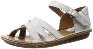 clarks clarks ladies sandal tustin sahara off white 2 5 d amazon