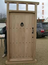 Unique Front Doors Handmade Unique Solid Oak External Doors In Warwickshire