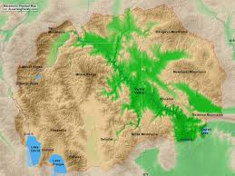 Alps Mountains Map Macedonia Physical Map A Learning Family