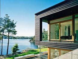 waterfront house plans modern homeca