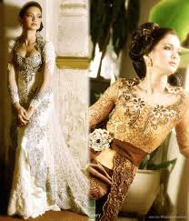 wedding dress designer indonesia contemporary wedding kebaya by cosry wedding inspirasi