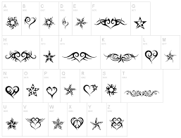 a new black ink tribal heart tattoo design tattoosfever clip
