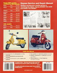 vespa p px125 150 u0026 200 scooters inc lml star 2t service u0026 repair