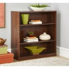 Mainstays 3 Shelf Bookcase Incredible Mainstays 3 Shelf Bookcase Multiple Finishes Walmart