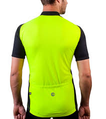 neon cycling jacket men u0027s full zip club cycle jersey neon yellow red blue
