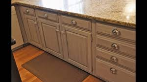 Kitchen Cabinets Redone by Painting Kitchen Cabinets With Chalk Paint Youtube