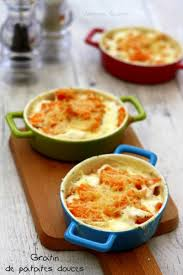 cuisiner patate gratin de patates douces amandine cooking