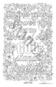 inspirational bible verse coloring book blessedbibles