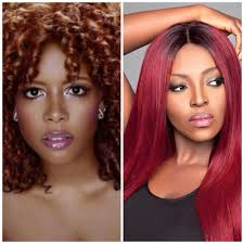 dark black women with hair color what color highlights for black