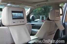 toyota highlander dvd headrest toyota car headrest dvd monitor testimonials