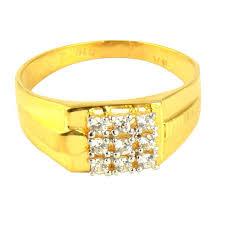 men s ring gold trendy men s ring at rs 16150 sone ki angoothi