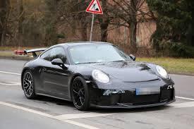911 Gt3 Msrp 2017 Porsche 911 Gt3 Facelift Spied With A Nose Job Should Come