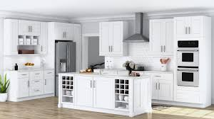 42 inch white kitchen wall cabinets shaker wall cabinets in white kitchen the home depot