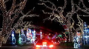 Drive Through Christmas Lights Youtube