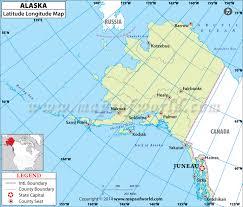 latitude map buy alaska latitude longitude map