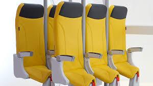 ce siege air vidéo skyrider un siège d avion pour cabine haute densité
