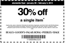 palais royal black friday 2014 30 off one item at bealls goody u0027s palais royal peebles and