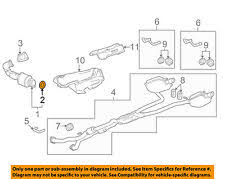 2003 cadillac cts catalytic converter exhaust gaskets for cadillac cts ebay