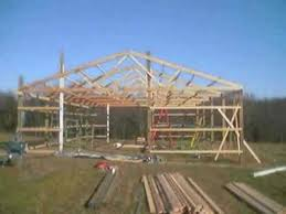 How Much Does A Pole Barn Cost How To Build A Pole Barn Youtube
