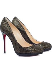 christian louboutin shoes filo shoes 120 in glitter and patent