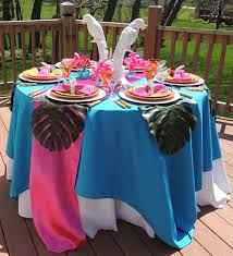 themed tablescapes tablescapes at table twenty one medium budget tropical themed