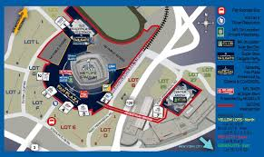 New Orleans Terminal Map by Super Bowl 2013 Parking Tips Superdome In New Orleans